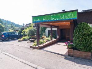Ansicht Eingangsbereich Hotel Hochwald