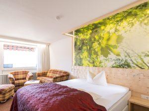 Einzelzimmer mit Queen-Size Bett