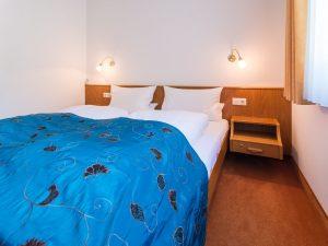 Doppelbett in Junior Suite