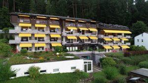 Blick auf die Talseite des Hochwald