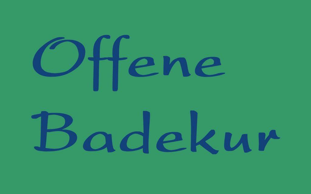 """Logo """"offene Badekur"""""""
